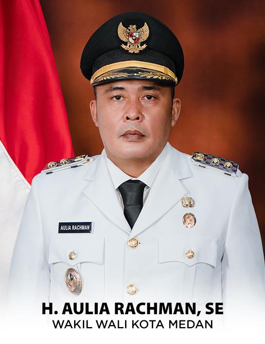 Wakil Walikota Medan H. Aulia Rachman, SE.